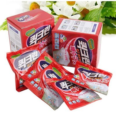 Bột thông cống Hàn Quốc đang được bán với giá dao động từ 45,000 đồng/ hộp 5 gói 40g