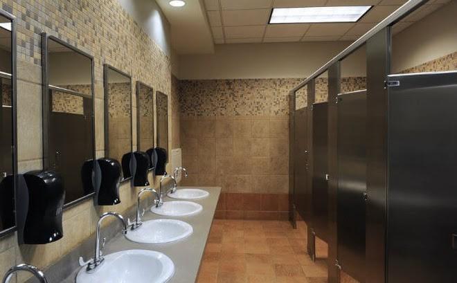 Nhà vệ sinh công cộng góp phần xây dựng môi trường xanh đô thị