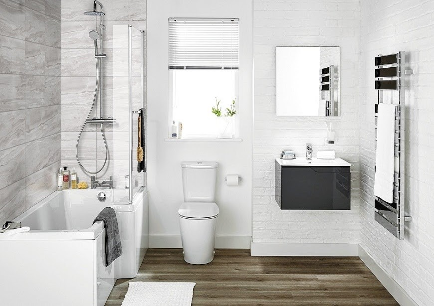 Kích thước nhà vệ sinh phù hợp sẽ tăng tính thẩm mỹ cho ngôi nhà