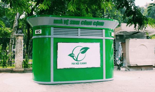 Nhà vệ sinh công cộng giúp cảnh quan đô thị thêm văn minh, hiện đại