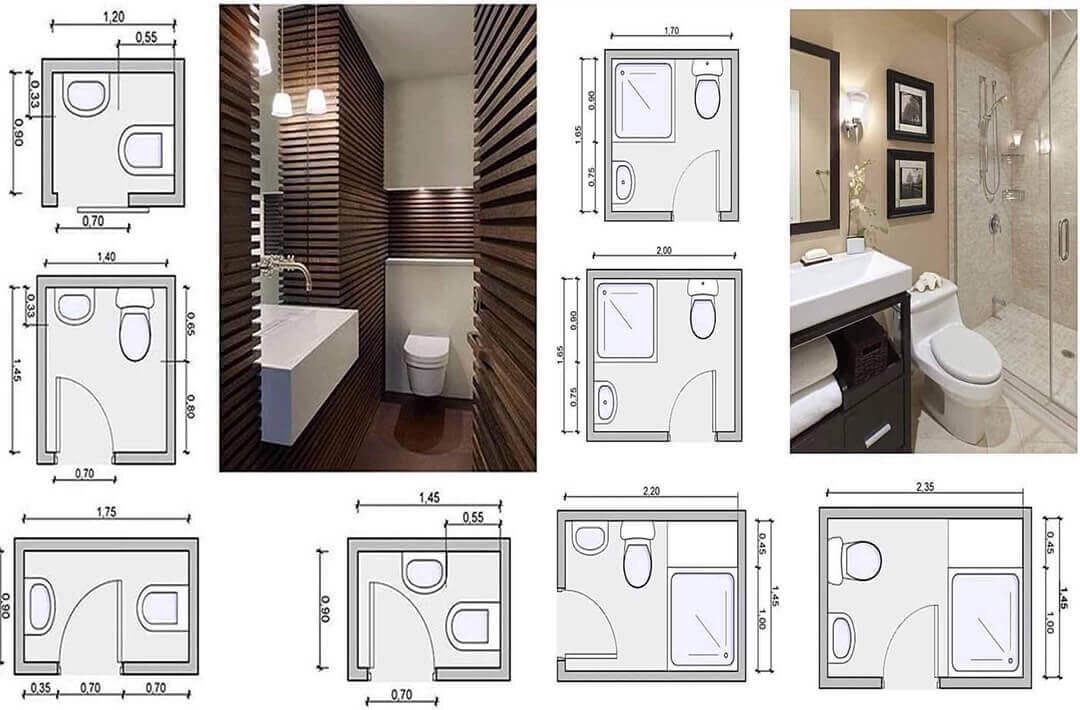Diện tích nhà vệ sinh ảnh hưởng đến cách thiết kế không gian bên trong