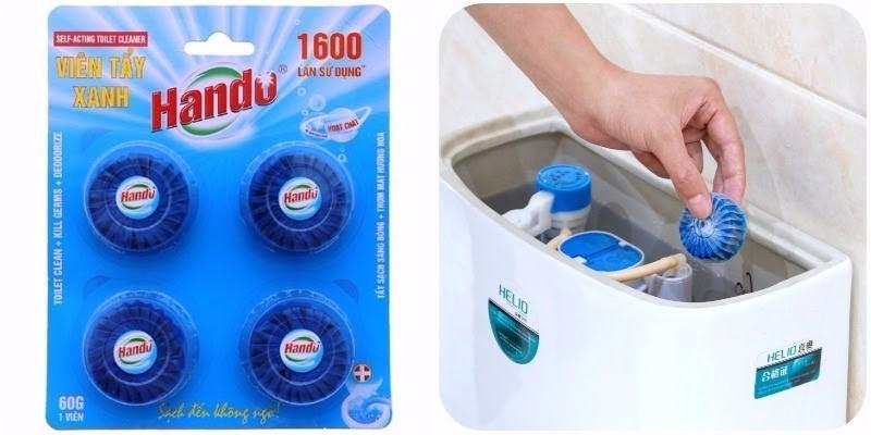 Hando cũng là thương hiệu viên tẩy được sản xuất tại Việt Nam được nhiều người ưa chuộng