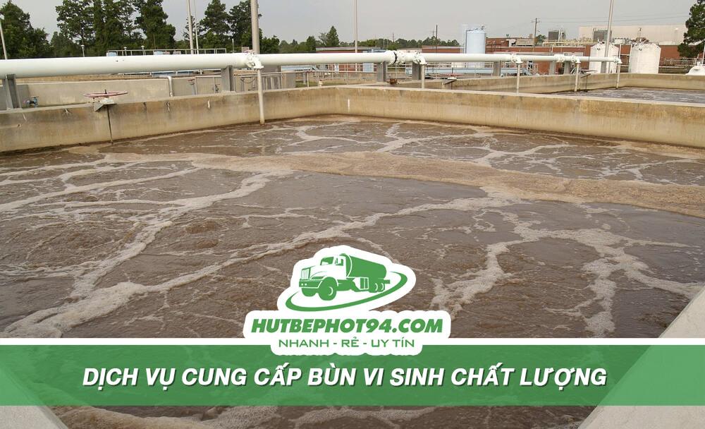 cung cấp bùn vi sinh