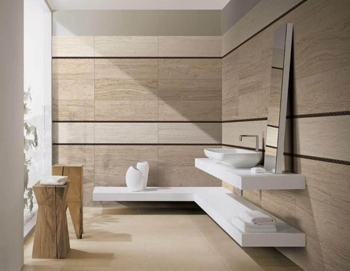 Bạn yêu thích phong cách hiện đại thì nên lựa chọn gạch ốp xéo
