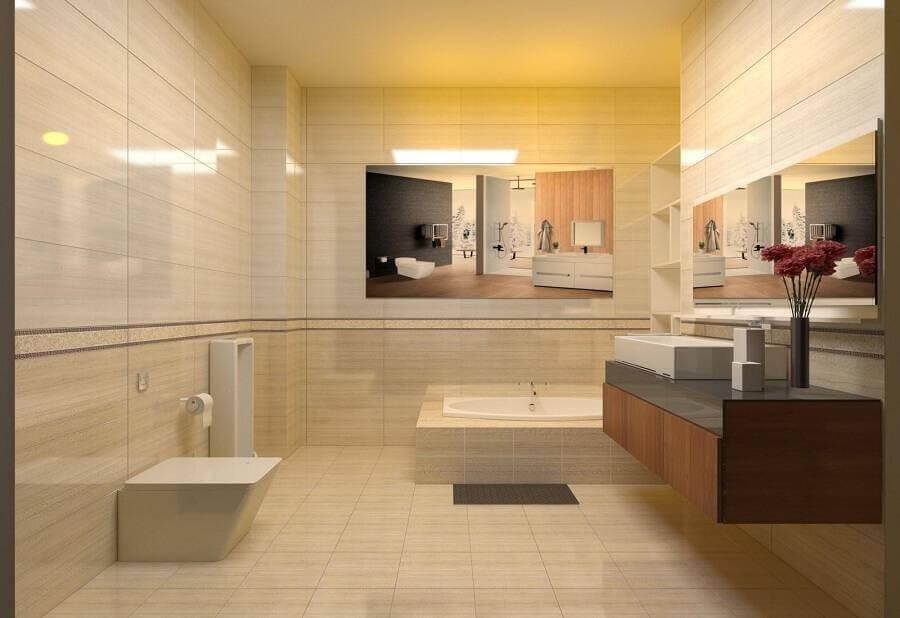 Lựa chọn màu sắc phù hợp cho gạch ốp nhà vệ sinh là yếu tố rất cần thiết