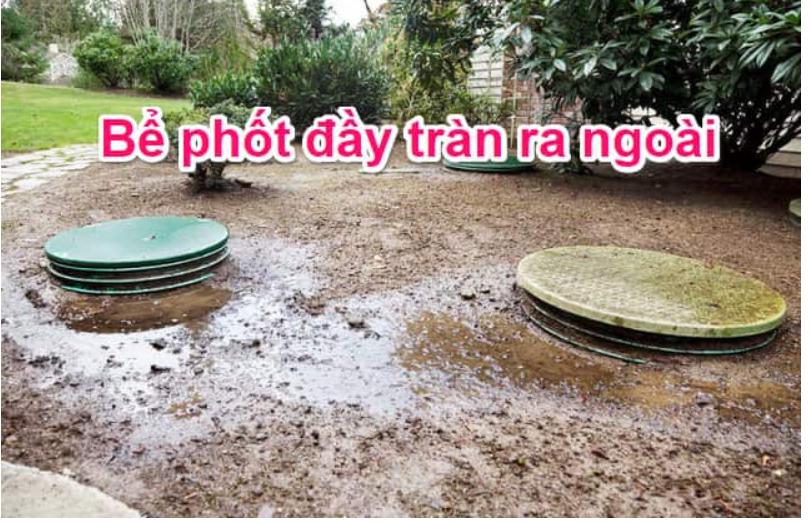 Dấu hiệu cần hút bể phốt tại Bắc Ninh