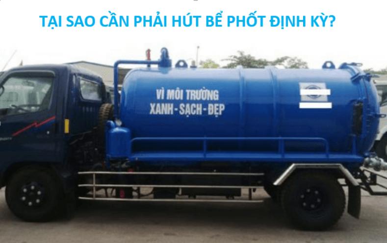 Khi nào cần hút bể phốt Ninh Bình