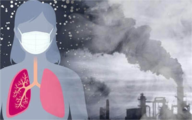 Ô nhiễm không khí ảnh hưởng đến sức khỏe con người