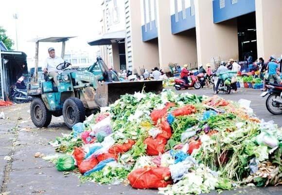 Ô nhiễm từ rác thải sinh hoạt