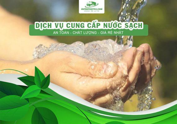 cung cấp nước sạch