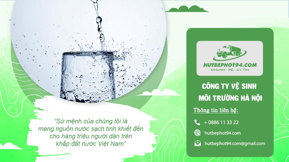 đăng ký dịch vụ cung cấp nước sạch