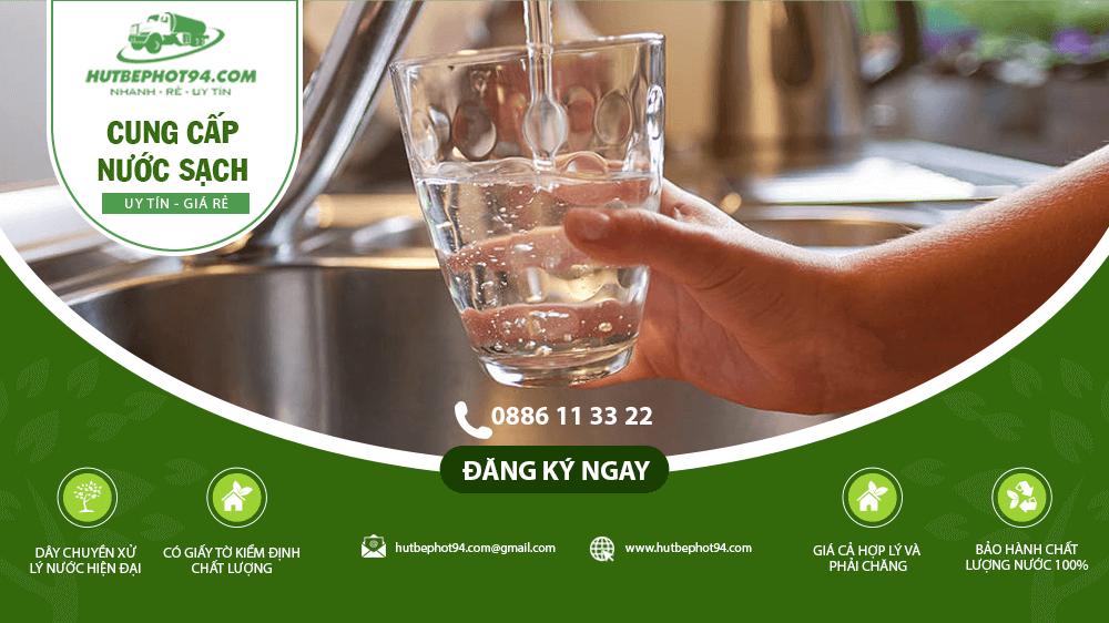 dịch vụ cung cấp nước sạch tại hà nội
